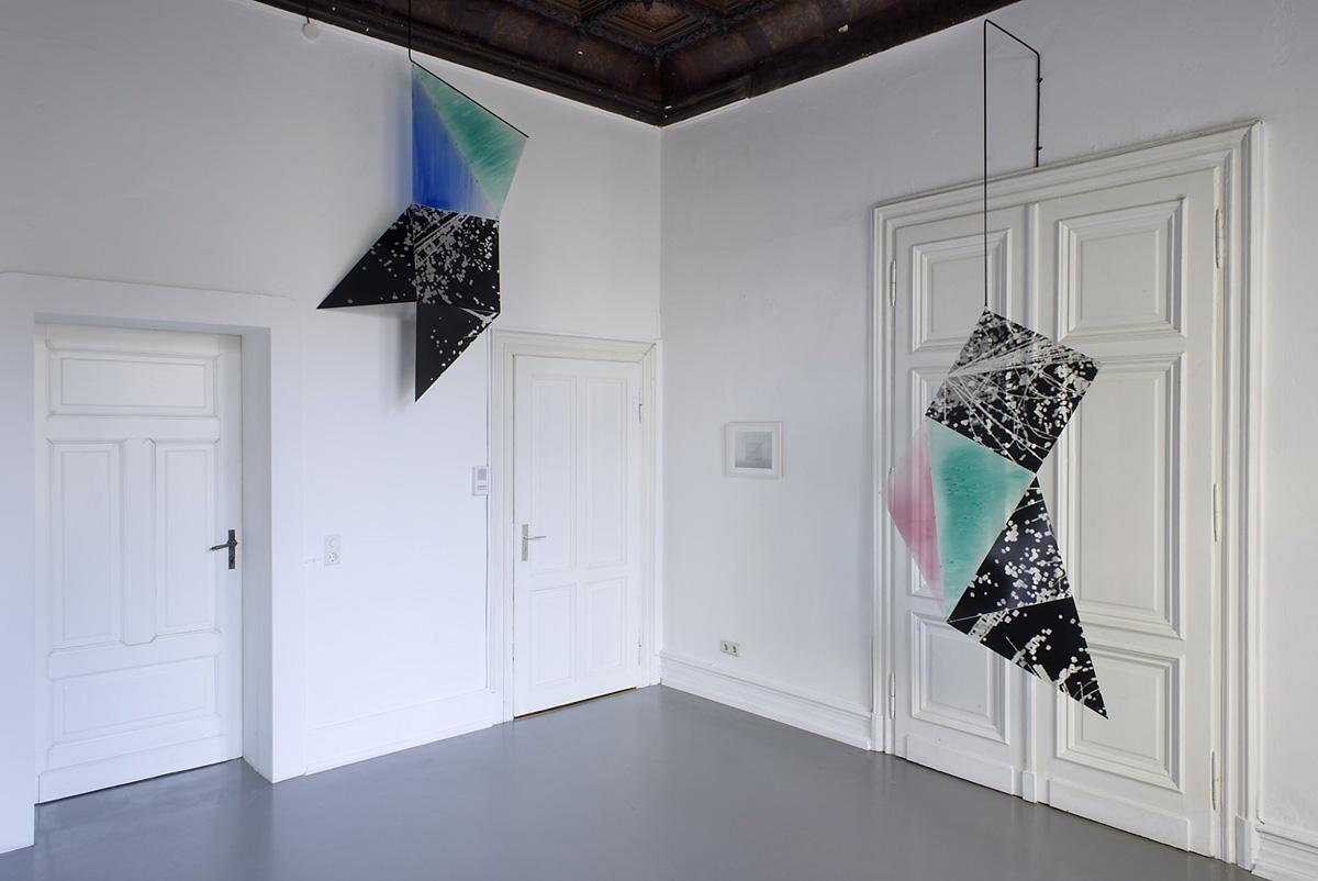 Felicitas Rohden Bended Sight, Jagla Ausstellungsraum, Köln, 2015 © Felicitas Rohden Foto: © Thomas Koester